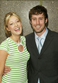 Jennifer Finnigan and Josh Cooke at the NBC Primetime Preview in New York.