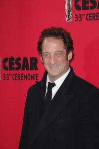 Vincent Lindon at the Cesar Film Awards 2008.
