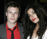 Noah Segan and Tania Raymonde at the after party of the premiere of