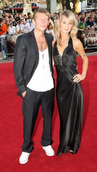 Leo Gregory and Guest at the UK premiere of