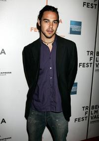Jonathan Trent at the premiere of