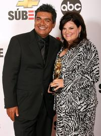 George Lopez and his wife Ana Serrano at the 2007 NCLR ALMA Awards.