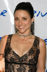 Julia Louis-Dreyfus at the Riverkeeper annual benefit.