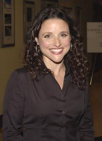 Julia Louis-Dreyfuss at the Liberty Hill Foundation''s annual Upton Sinclair dinner.