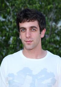 B.J. Novak at the NBC All-Star Party during the 2007 Summer Television Critics Association Press Tour.