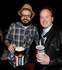 David Cross and Tom McGrath at the California premiere of