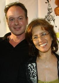 Tom McGrath and Producer Mireille Soria at the
