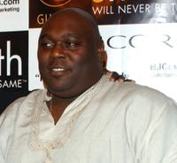 Faizon Love at the private listening party for Deezer D.'s soon to be released album