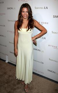 Jenna Dewan at the Stone Rose Lounge and Simon LA preview.