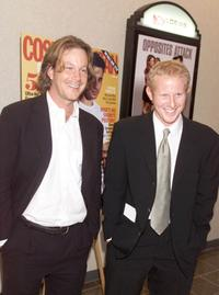 Andrew Lowery and Andrew Miller at the New York premiere of