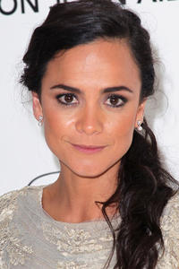 Alice Braga at the 20th Annual Elton John AIDS Foundation's Oscar Viewing Party in West Hollywood.