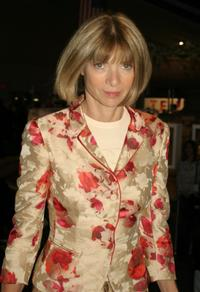 Anna Wintour at the Olympic Fashion week Spring 2005.