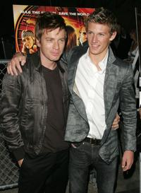 Ewan McGregor and Alex Pettyfer at the premiere of