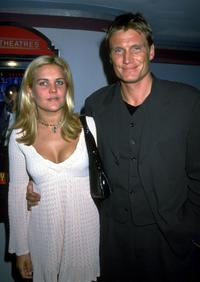 A File photo of actor Dolph Lundgren and Guest dated 05 March, 1999.