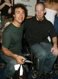 Doug Liman and Mark Zupan at the premiere of