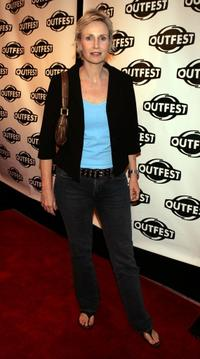 Jane Lynch at the 23rd Annual Los Angeles Gay and Lesbian Film Festival.