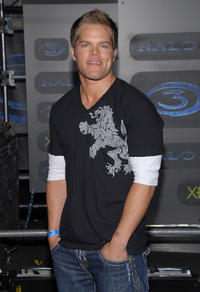 Wes Chatham at the XBOX 360 'Halo 3' sneak preview party in California.