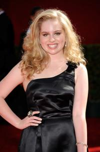 Allie Grant at the 61st Primetime Emmy Awards.
