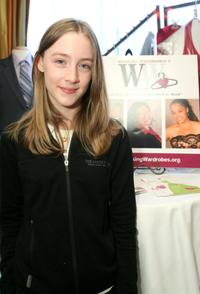 Saoirse Ronan at the Belvedere Luxury Lounge.