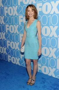 Jayma Mays at the 2010 Fox Upfront after party.