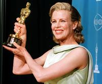 Kim Basinger at the 70th Annual Academy Awards at the Shrine Auditorium in Los Angeles.