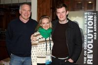 Jonathan Sehring, Jess Weixler and Joe Swanberg at the 2009 Sundance Film Festival.