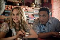 Jess Weixler and Aasif Mandvi in