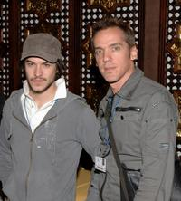 Marc-Andre Grondin and Jean Marc Vallee at the photocall of