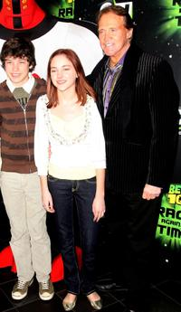 Graham Phillips, Haley Ramm and Lee Majors at the UK premiere of