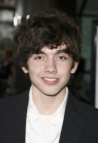 Carter Jenkins at the premiere of