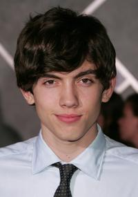Carter Jenkins at the world premiere of