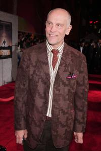 John Malkovich at the premiere of Miramax Films
