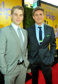 Mike Vogel and Chris Lowell at the California premiere of