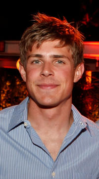Chris Lowell at the ABC launch party for