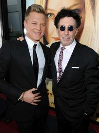 Chris Egan and Mark Canton at the premiere of