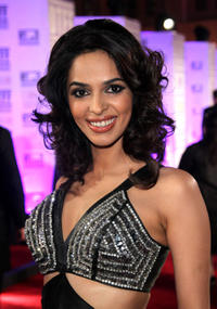 Malika Sherawat at the opening night gala during the 2010 Doha Tribeca Film Festival in Doha.