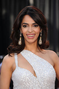 Malika Sherawat at the 83rd Annual Academy Awards in California.