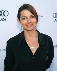 Justine Bateman at a party thrown by Audi and Cond Nast.