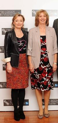 Lesley Manville and Ruth Sheen at the photocall of