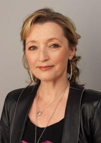 Lesley Manville at the 54th BFI London Film Festival.