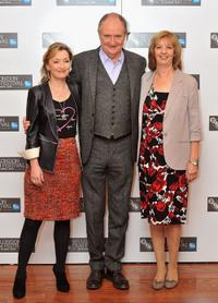 Lesley Manville, Jim Broadbent and Ruth Sheen at the photocall of