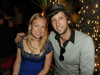 Producer Lynette Howell and Joel David Moore at the after party of the California premiere of
