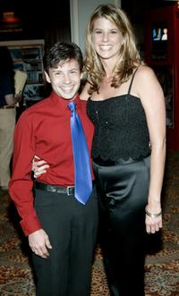 Jason Marsden and Christy Hicks at the screening of