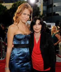Cody Horn and Sue Kroll at the California premiere of
