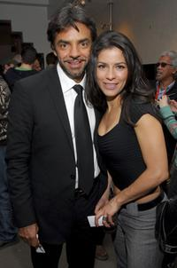 Eugenio Derbez and Alessandra Rosaldo at the after party of
