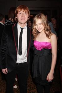 Rupert Grint and Chloe Grace Moretz at the Jameson Empire Film Awards 2010.