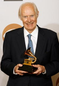 George Martin at the 50th annual Grammy awards.