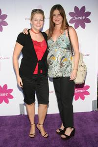 Melissa Joan Hart and Kellie Martin at the Hollywood Hot Moms Soiree benefiting the Step Up Women's Network.