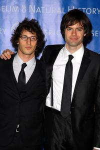 Andy Samberg and Bill Hader at the 2008 Museum Gala.