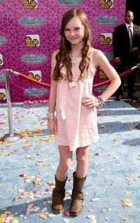 Madeline Carroll at the premiere of